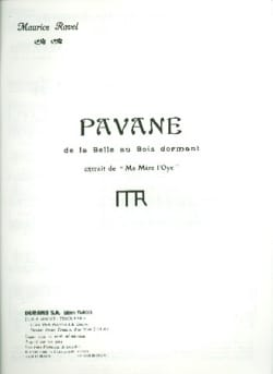 Maurice Ravel - Pavane of the Sleeping Beauty - Sheet Music - di-arezzo.com