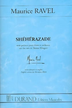 Maurice Ravel - Shéhérazade - Conducteur - Partition - di-arezzo.fr
