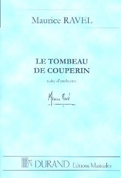 Maurice Ravel - Le Tombeau de Couperin - Conducteur - Partition - di-arezzo.fr