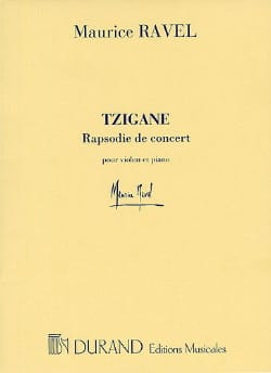 Maurice Ravel - Gypsy - Violin piano - Sheet Music - di-arezzo.com