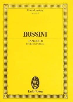 Gioacchino Rossini - Ouverture de Tancrede - Partition - di-arezzo.fr