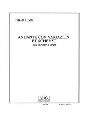 Andante con variazioni et Scherzo -Conducteur + parties laflutedepan
