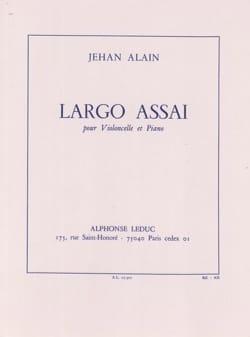 Jehan Alain - Largo Assai - Partition - di-arezzo.fr