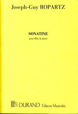 Joseph-Guy Ropartz - Sonatine - Flauta y piano - Partitura - di-arezzo.es