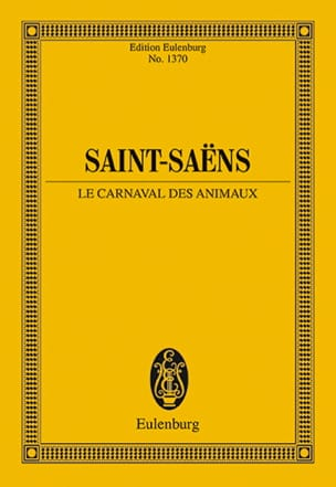Camille Saint-Saëns - Carnival of the Animals - Sheet Music - di-arezzo.co.uk