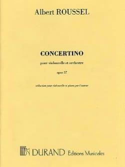 Albert Roussel - Concertino op. 57 - Partition - di-arezzo.fr