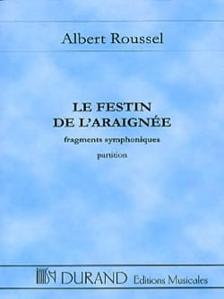 Albert Roussel - The Feast of the Spider - Driver - Sheet Music - di-arezzo.com