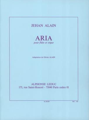Jehan Alain - Aria - Flauto d'organo - Partitura - di-arezzo.it