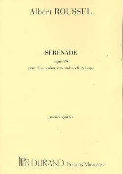 Albert Roussel - Serenade op. 30 - Parties - Sheet Music - di-arezzo.co.uk