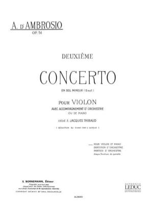 Concerto n° 2 op. 51 en sol mineur - laflutedepan.com