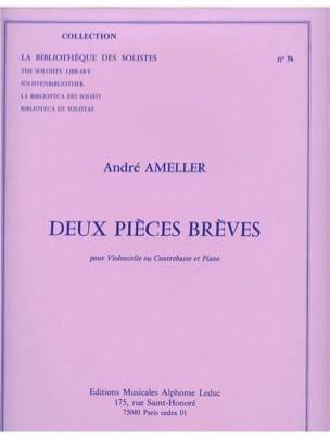 2 Pièces brèves André Ameller Partition Violoncelle - laflutedepan