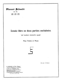 Sonate libre en deux parties enchainées op. 68 - laflutedepan.com