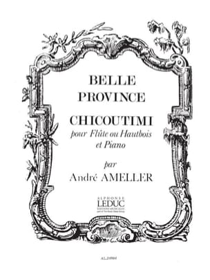 Belle province : Chicoutimi - Flûte piano - laflutedepan.com
