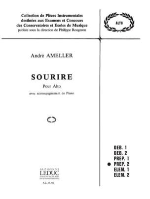 Sourire André Ameller Partition Alto - laflutedepan
