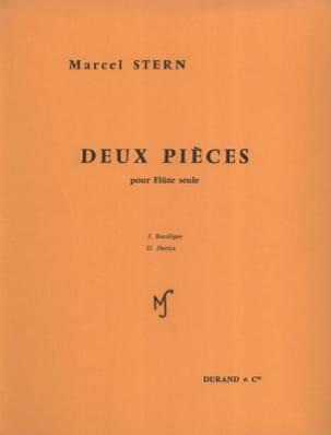 Marcel Stern - 2 Pièces – Flûte seule - Partition - di-arezzo.fr
