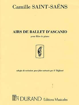 Camille Saint-Saëns - Ascanio Ballet Tunes - Piano Flute - Sheet Music - di-arezzo.co.uk
