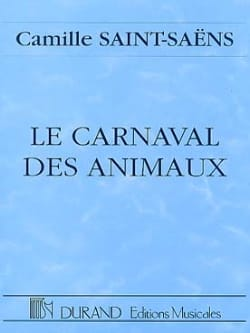 Camille Saint-Saëns - The Carnival of the Animals - Driver - Sheet Music - di-arezzo.co.uk