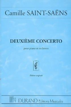 Camille Saint-Saëns - Concerto Piano n° 2 op. 22 - Conducteur - Partition - di-arezzo.fr