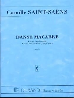 Camille Saint-Saëns - Dance macabre op. 40 - Driver - Sheet Music - di-arezzo.co.uk