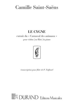 Camille Saint-Saëns - The Swan - Flute and Piano - Sheet Music - di-arezzo.com