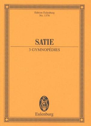 Three Gymnopédies Erik Satie Partition Petit format - laflutedepan