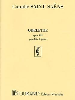Camille Saint-Saëns - Odelette op. 162 - Piano flute - Sheet Music - di-arezzo.co.uk