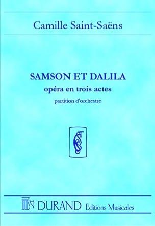 Camille Saint-Saëns - Samson and Dalila - Driver - Partition - di-arezzo.co.uk