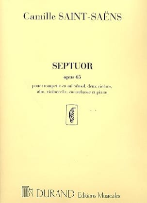 Camille Saint-Saëns - Septuor op. 65 - Partition parts - Sheet Music - di-arezzo.com