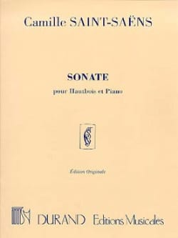 Camille Saint-Saëns - Sonata Op. 166 - Sheet Music - di-arezzo.co.uk