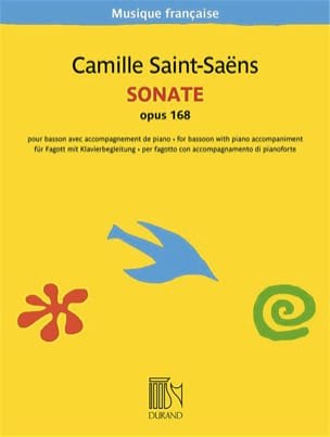 Camille Saint-Saëns - Sonata, Opus 168 - Sheet Music - di-arezzo.co.uk