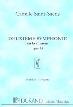 Camille Saint-Saëns - Symphony No. 2 op. 55 - Sheet Music - di-arezzo.co.uk