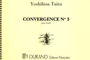 Yoshihisa Taïra - Convergence 3 - Sheet Music - di-arezzo.co.uk
