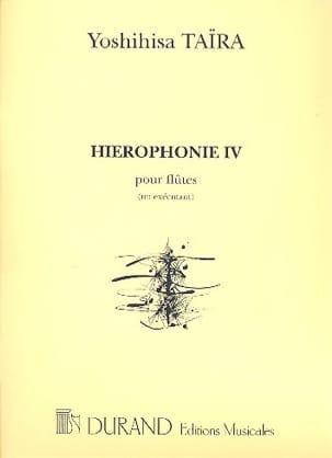 Yoshihisa Taïra - Hiérophonie 4 - Flutes 1 performing - Sheet Music - di-arezzo.com