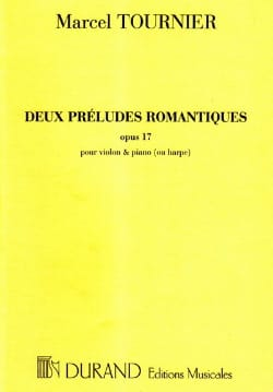2 Préludes romantiques - Marcel Tournier - laflutedepan.com