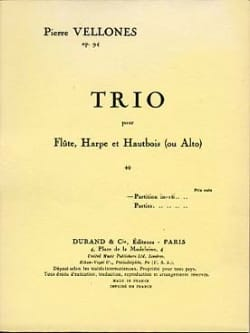 Trio op. 94 – Conducteur - Pierre Vellones - laflutedepan.com