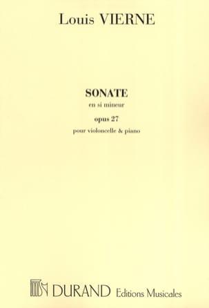Louis Vierne - Sonata in B minor op. 27 - Sheet Music - di-arezzo.com
