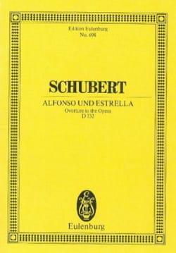 Franz Schubert - Alfonso und Estrella - Partition - di-arezzo.fr