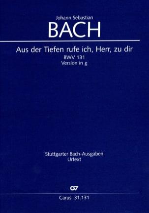 Cantate Aus Der Tiefen.. BWV 131 - Fassung In G-Moll BACH laflutedepan