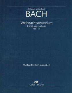 Weihnachtsoratorium BWV 248, Teil 1-3 – Conducteur - laflutedepan.com
