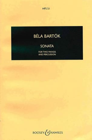 BARTOK - Sonate pour 2 pianos et percussions - Conducteur - Partition - di-arezzo.fr