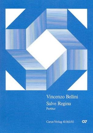 Salve Regina BELLINI Partition Grand format - laflutedepan