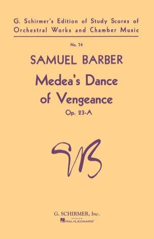 Samuel Barber - Medea's Dance of Vengeance op. 23-A - Sheet Music - di-arezzo.co.uk