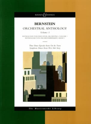 Orchestral Anthology - Volume 1 BERNSTEIN Partition laflutedepan