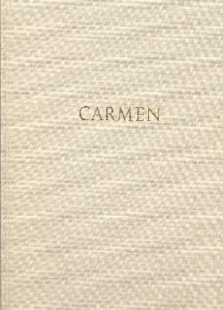 Carmen - Conducteur relié - BIZET - Partition - laflutedepan.com