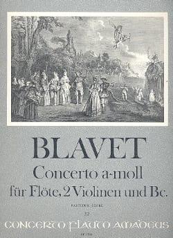Michel Blavet - Concerto a-moll f. Flöte – Partitur - Partition - di-arezzo.fr