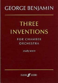 Three inventions for Chamber Orchestra - laflutedepan.com