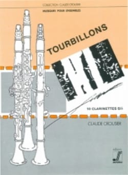 Claude Crousier - Tourbillons - Partition - di-arezzo.fr
