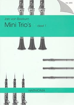 - Mini Trio's Deel 1 – 3 Vents - Partition - di-arezzo.fr