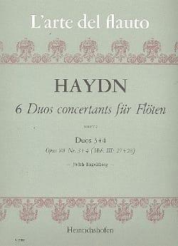 Joseph Haydn - 6 Duos concertants op. 101 (Heft 2) – 2 Flöten - Partition - di-arezzo.fr
