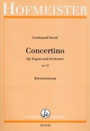 Ferdinand David - Concertino Op. 12 - Partition - di-arezzo.fr